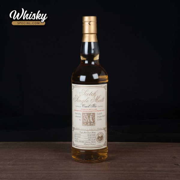 Caol Ila, 1999 SMC, Charity Bottling, front