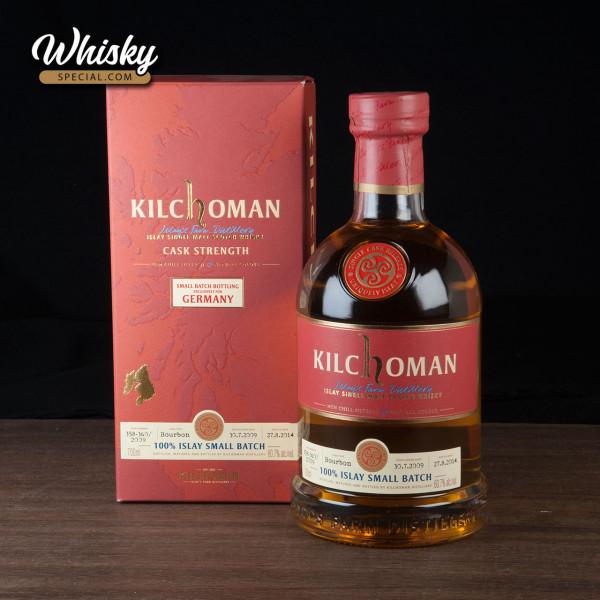 Kilchoman 100% Islay Small Batch, for Germany 2009/ 2014