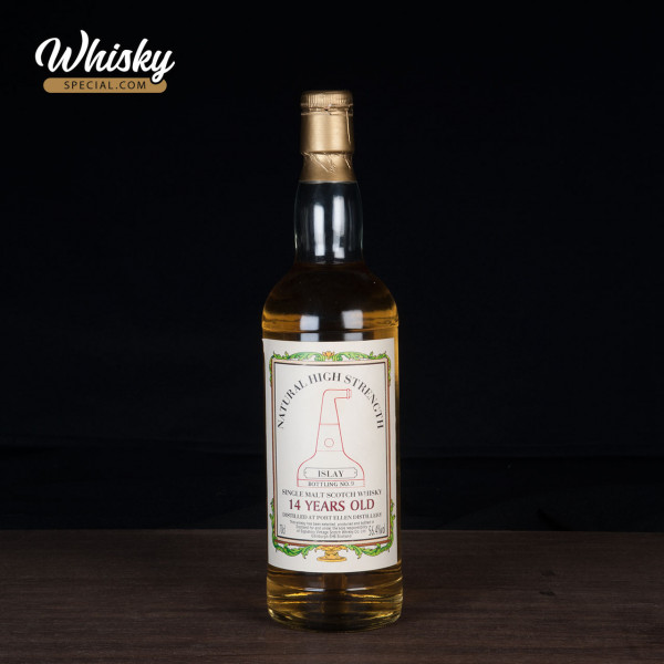 Port Ellen, 14-year-old SV , Natural High Strength - Islay Bottling No. 9