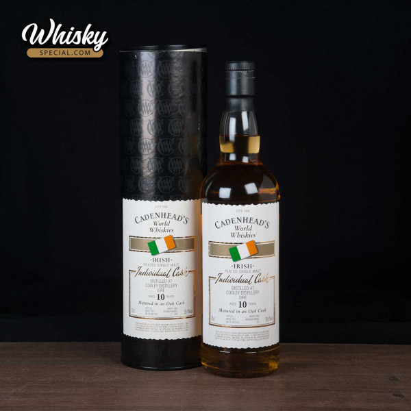 Cooley, 10-year-old, Cadenheads World Whiskies, front