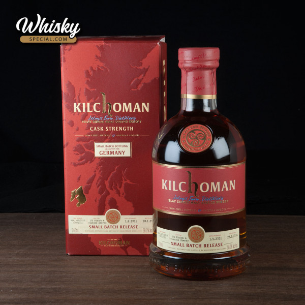 Kilchoman Small Batch Release for Germany, 2011/ 2016, front