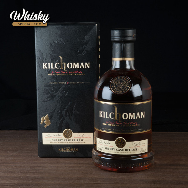Kilchoman Sherry Cask Release 2012