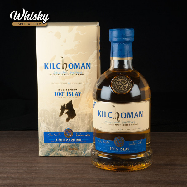 Kilchoman 100% Islay, 5th Edition, front
